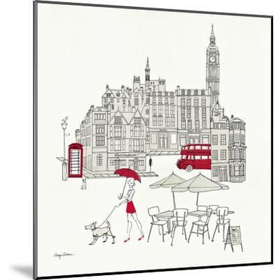 World Cafe I - London Red by Avery Tillmon