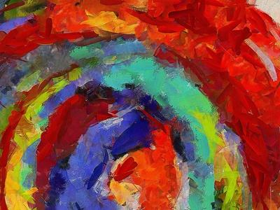 Digital Art Abstract Pattern Abstract Futuristic Diagonal Image.