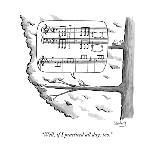 """It's wet, but it's a dry wet."" - New Yorker Cartoon-Avi Steinberg-Premium Giclee Print"