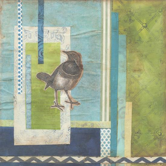 Avian Scrapbook I-Erica J^ Vess-Art Print