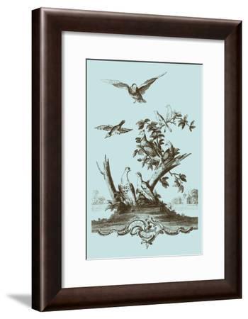 Avian Toile IV-Vision Studio-Framed Art Print