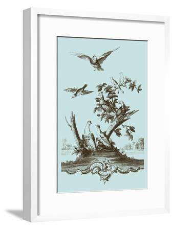 Avian Toile IV-Vision Studio-Framed Art Print