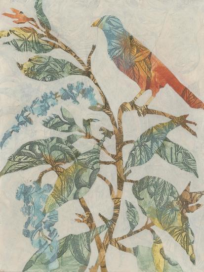 Aviary Collage II-Megan Meagher-Art Print