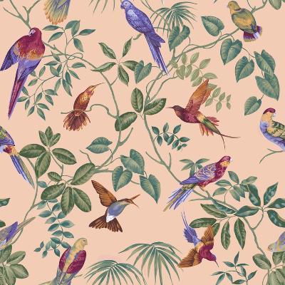 Aviary Final Blush-Bill Jackson-Giclee Print