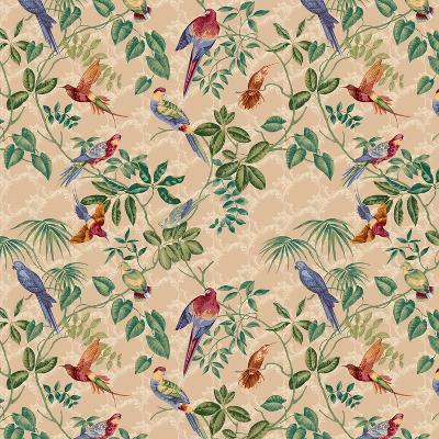 Aviary Small Scroll Neutral-Bill Jackson-Giclee Print