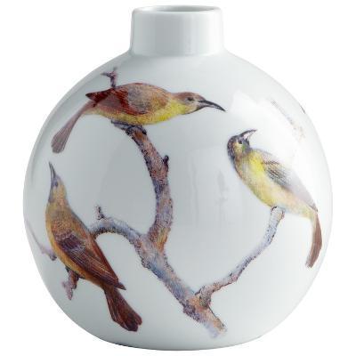 Aviary Vase - Round--Home Accessories