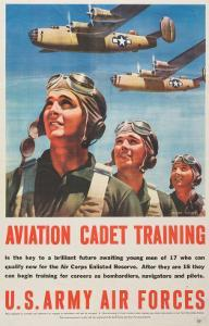 """Aviation Cadet Training: U.S. Army Air Forces"", 1943"