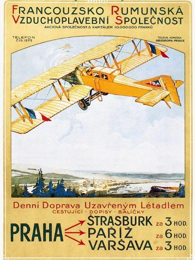 Aviation Poster, 1922--Giclee Print