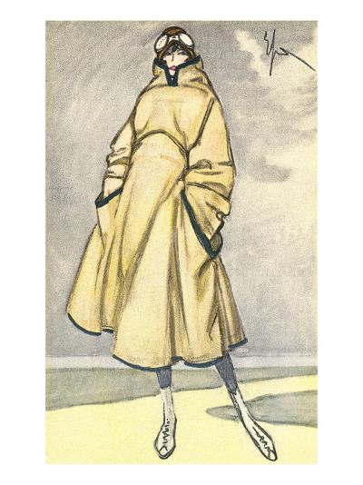 Aviatrix Outfit--Art Print