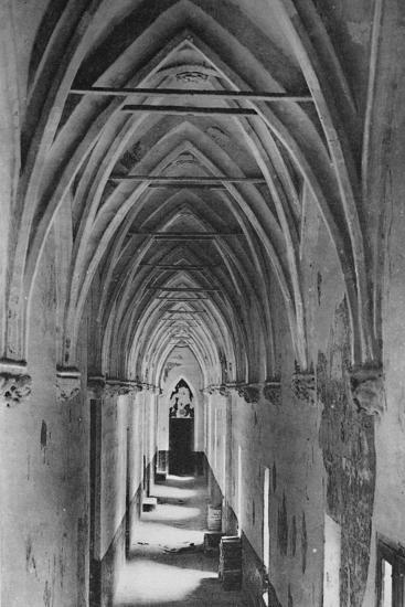'Avignon - Popes Palace. - Conclave Gallery', c1925-Unknown-Photographic Print
