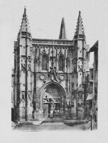 'Avignon - St. Peter's Church', c1925-Unknown-Photographic Print