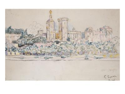 Avignon-Paul Signac-Giclee Print