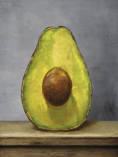 Avocado Artwork-Tania Bello-Giclee Print