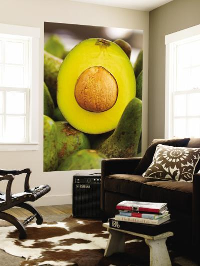 Avocados at Market Stall-Jane Sweeney-Wall Mural