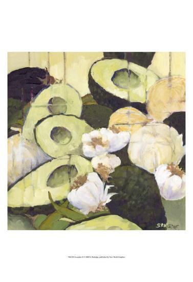 Avocados II-Silvia Rutledge-Art Print