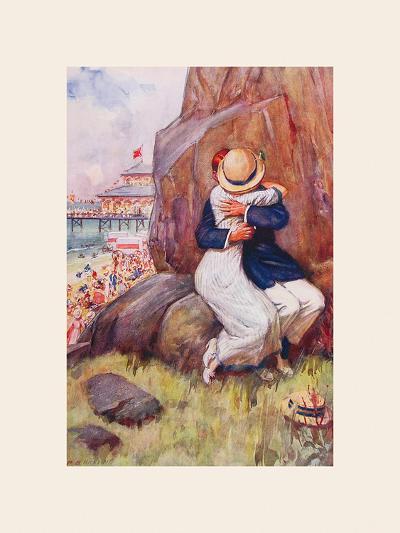 Avoiding the Crush-Percy Hickling-Premium Giclee Print