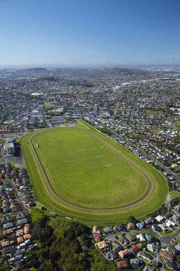 Avondale Racecourse, Auckland, North Island, New Zealand-David Wall-Photographic Print