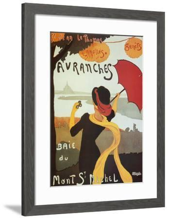 Avranches-Albert Bergevin-Framed Art Print