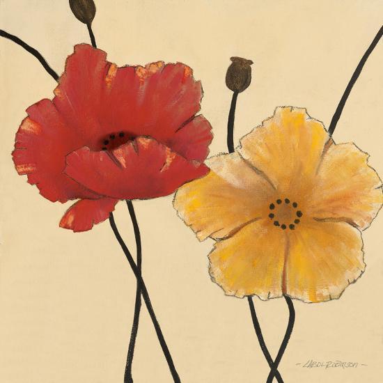 Awaited Blooms I-Carol Robinson-Art Print