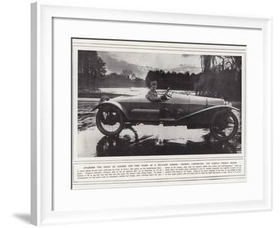 Awarded the Croix De Guerre for Fine Work as a Military Airman--Framed Photographic Print