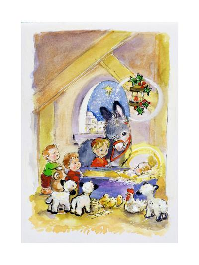 Away in a Manger, 1996-Diane Matthes-Giclee Print