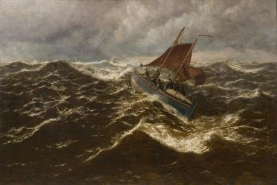 Away to the Goodwin Sands (Dover Lifeboat)-Thomas Rose Miles-Giclee Print