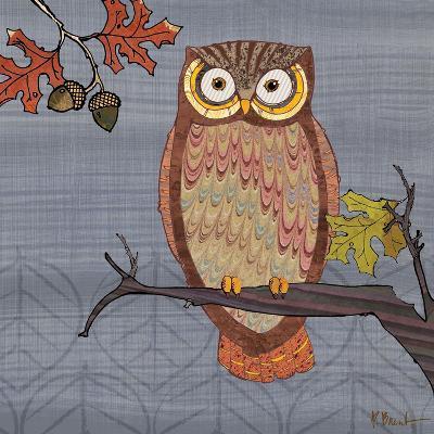 Awesome Owls II-Paul Brent-Art Print