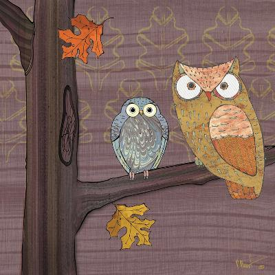 Awesome Owls IV-Paul Brent-Art Print