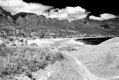 Awesome South Africa Collection B&W - The Twelve Apostles - Camps Bay II-Philippe Hugonnard-Photographic Print