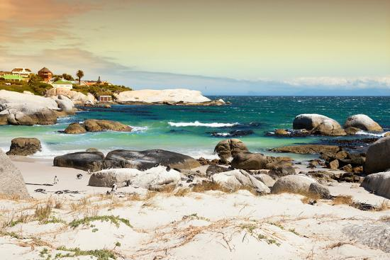 Awesome South Africa Collection - Boulders Beach at Sunset - Cape Town I-Philippe Hugonnard-Photographic Print