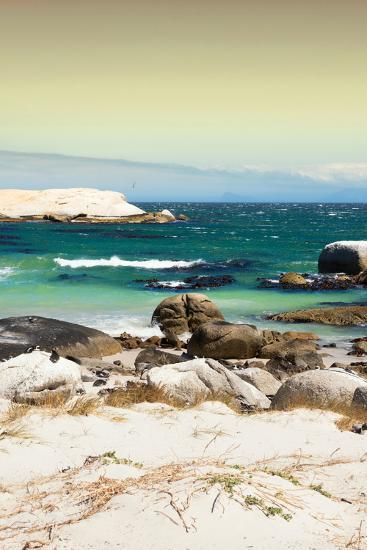 Awesome South Africa Collection - Boulders Beach at Sunset - Cape Town II-Philippe Hugonnard-Photographic Print