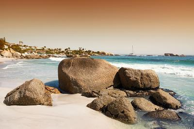 Awesome South Africa Collection - Clifton Beach at Sunset-Philippe Hugonnard-Photographic Print