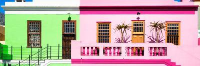Awesome South Africa Collection Panoramic - Colorful Homes in Cape Town-Philippe Hugonnard-Photographic Print