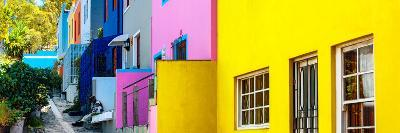 Awesome South Africa Collection Panoramic - Colorful Houses - Cape Town II-Philippe Hugonnard-Photographic Print