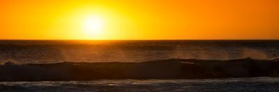 Awesome South Africa Collection Panoramic - Ocean at Sunset-Philippe Hugonnard-Photographic Print