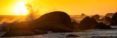 Awesome South Africa Collection Panoramic - Power of the Ocean at Sunset II-Philippe Hugonnard-Photographic Print
