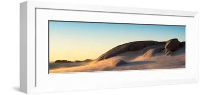 Awesome South Africa Collection Panoramic - Sand Dune at Sunset-Philippe Hugonnard-Framed Photographic Print