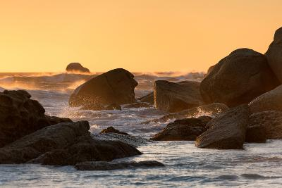 Awesome South Africa Collection - Power of the Ocean at Sunset-Philippe Hugonnard-Photographic Print