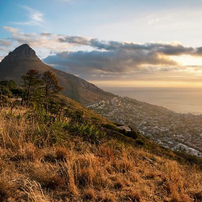 Awesome South Africa Collection Square - Cape Town at Sunset-Philippe Hugonnard-Photographic Print
