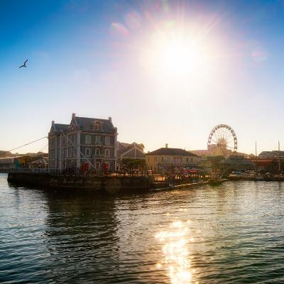Awesome South Africa Collection Square - Cape Town Harbour at Sunset-Philippe Hugonnard-Photographic Print