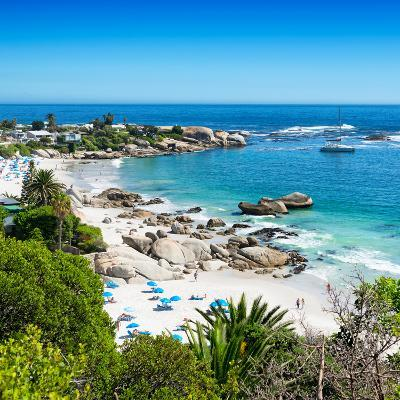 Awesome South Africa Collection Square - Clifton Beach - Camps Bay-Philippe Hugonnard-Photographic Print