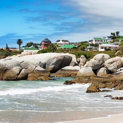 Awesome South Africa Collection Square - Landscape of Boulders Beach - Cape Town-Philippe Hugonnard-Photographic Print