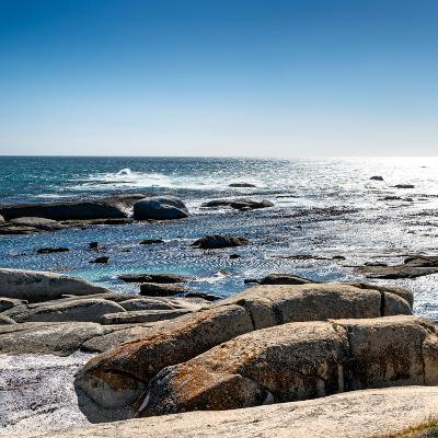 Awesome South Africa Collection Square - View of the South Atlantic Ocean II-Philippe Hugonnard-Photographic Print