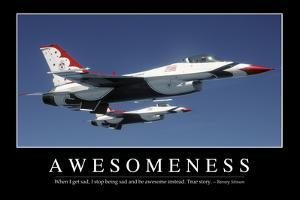 Awesomeness: Inspirational Quote and Motivational Poster