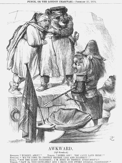 Awkward, 1878-Joseph Swain-Giclee Print