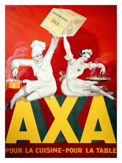 AXA Margerine-Robys (Robert Wolff)-Giclee Print