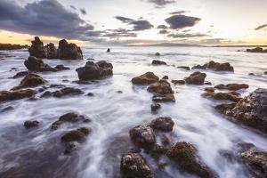 Maui, Hawaii, USA: La Perouse Bay During Sunset With Kaho'Olawe In The Background by Axel Brunst