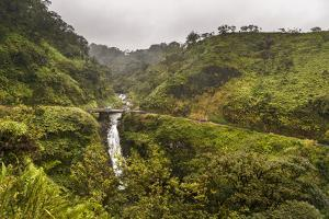 Maui, Hawaii, USA: The Road To Hana On A Rainy Winter Day by Axel Brunst