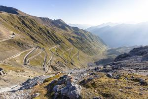 Stelvio Pass, Ortler Alps, South Tyrol / Sondrio, Italy: Highest Paved Mt Pass In The Eastern Alps by Axel Brunst