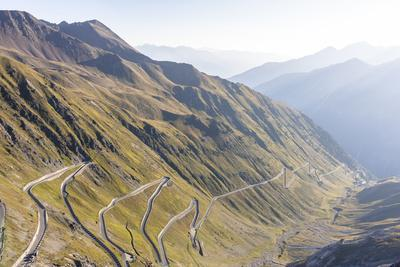Stelvio Pass, Ortler Alps, South Tyrol / Sondrio, Italy: Highest Paved Mt Pass In The Eastern Alps